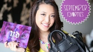 September 2013 Favorites (Giveaway CLOSED!)