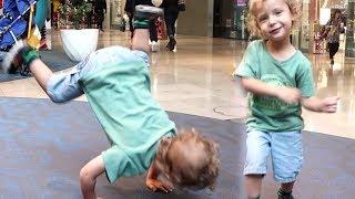 رقصة يوسف الخطيرة في المول 😂