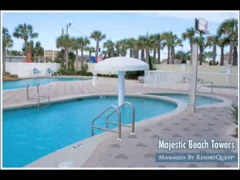 majestic beach towers in panama city beach fl managed. Black Bedroom Furniture Sets. Home Design Ideas