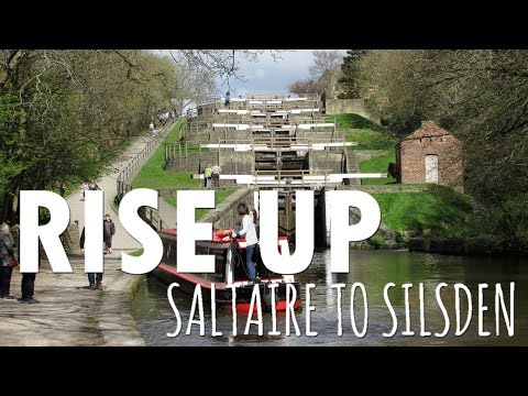 A Narrowboat trip on the Leeds & Liverpool Canal - Saltaire to Silsden - Episode 20