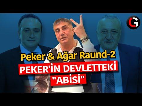 Sedat Peker'in devletteki koruyucusu / Peker-Ağar Raund-2