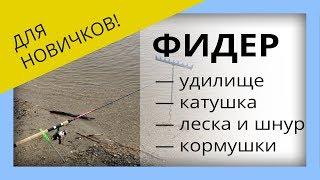 Фидер для начинающих. Выбор удилища, катушки, лески для фидера #OmskFish