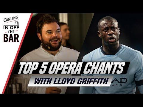 Football chants sung in opera! Featuring Yaya Toure, Olivier Giroud and...Omar Bogle?