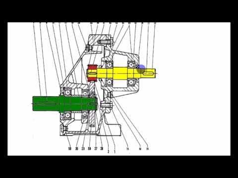 Analyse d'un plan en coupe reducteur mecanique video 2/3