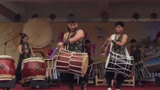 2016 嘉義 東石鄉 慶端陽競龍舟 活動 台北慶和舘太鼓組曲表演