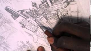 Cybertron Speed drawing