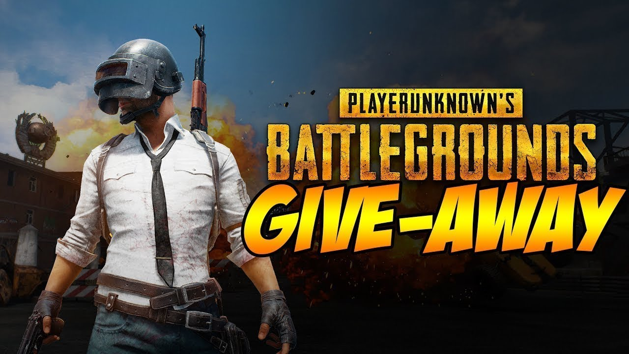 Pubg giveaway august 2019