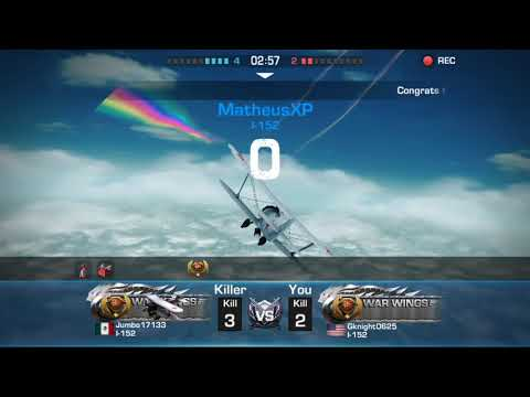 WAR WINGS NEW Mobile DOGFIGHTING GAME REVIEW!