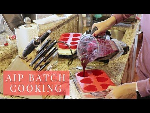 Autoimmune Paleo Protocol (AIP) Batch Cooking