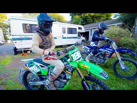 I NEED A 450... Private Track Riding