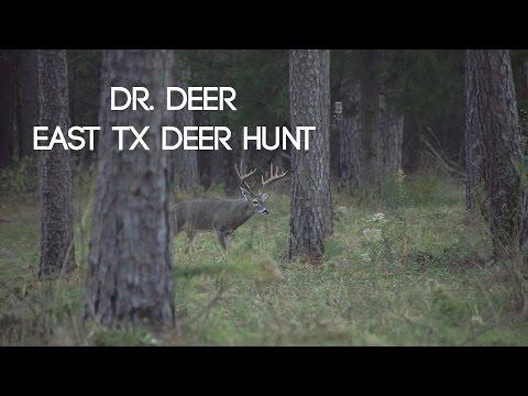 Dr. Deer 38 yrs of Management - East Texas Trophy Deer Hunt