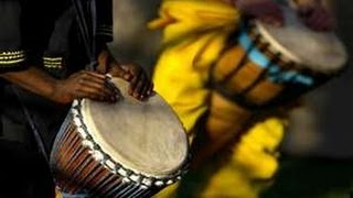 African Drum Beat -  there is no movement without rhythm
