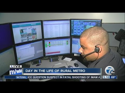 Day in the life of AMR RuralMetro: Dispatch