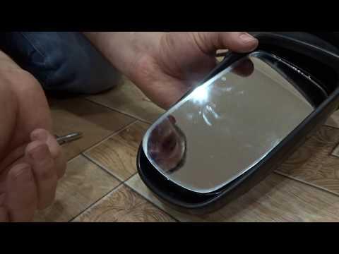 Разборка электрозеркала на Mazda Demio