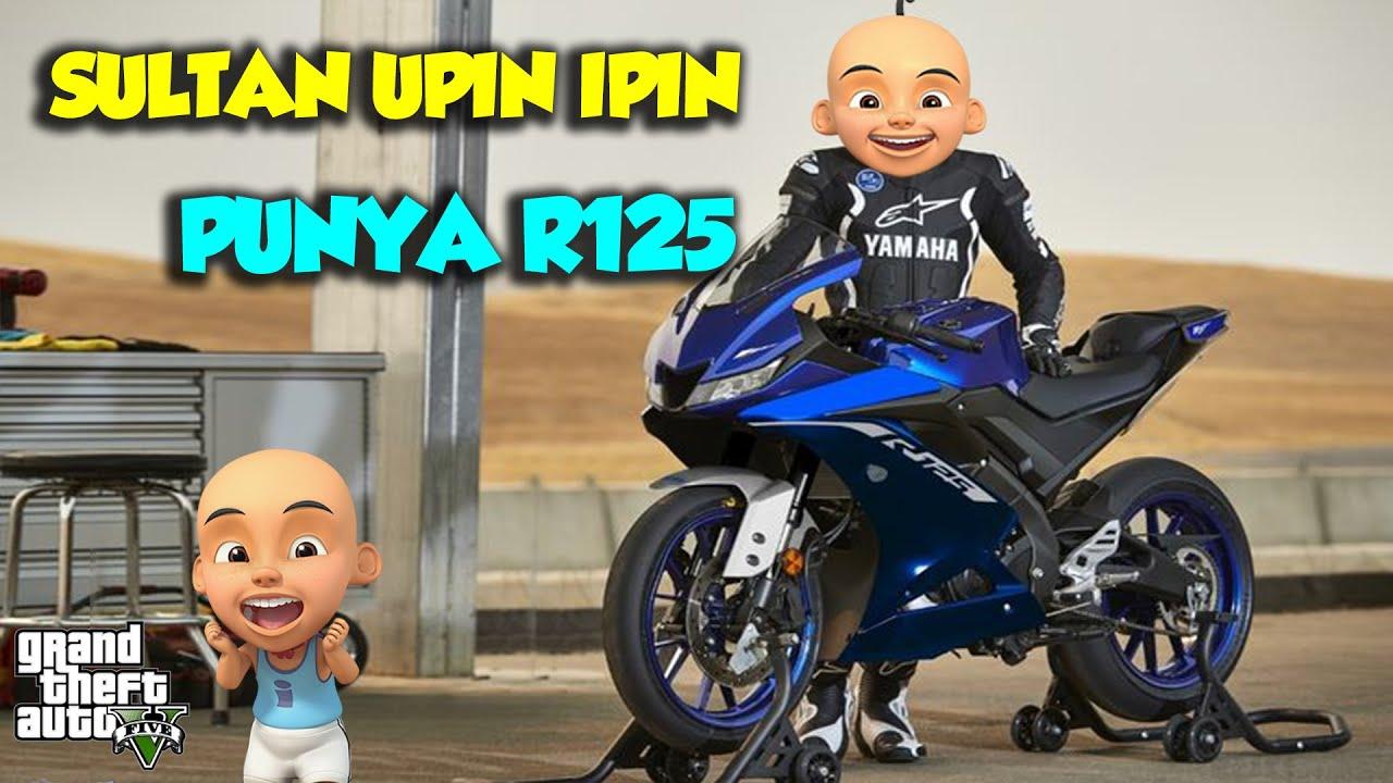 Sultan Upin Ipin Punya MOTO 3 eh YAMAHA R125 HAHAHA - GTA V Upin Ipin Episode Terbaru 771