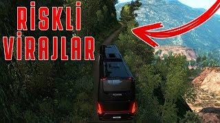 İnanilmaz Tehlİkelİ Vİrajli Yollar!   Euro Truck Simulator 2
