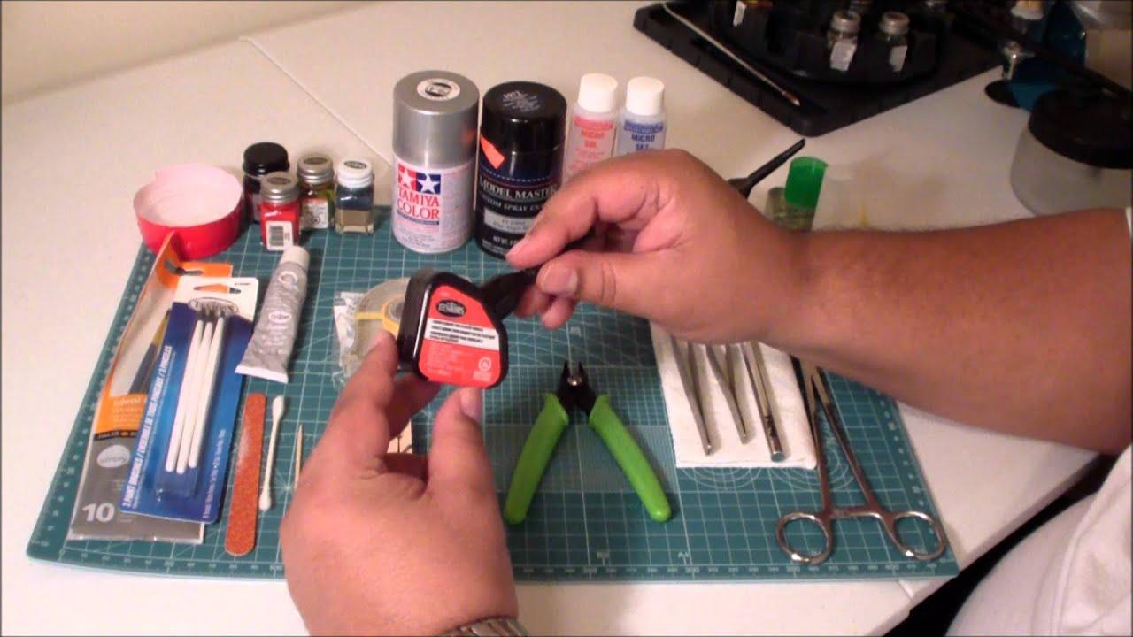Basic Tools For Beginning Model Builders Tutorial 1 Youtube