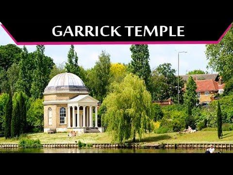 Garrick's Temple To Shakespeare - Garden in River Thames at Hampton (London)