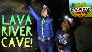 Lava River Cave Exploration!