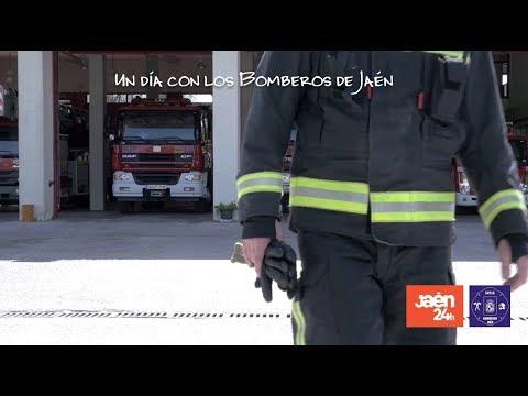 Un día con los Bomberos de Jaén - Jaén24h