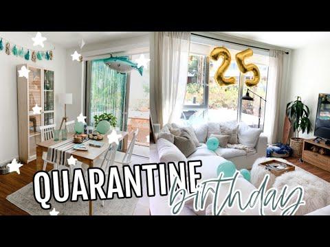 Quarantine Birthday Surprise For My Boyfriend Youtube