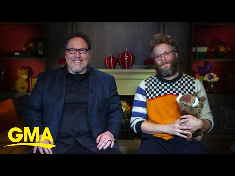 'The Lion King' star Seth Rogen talks chart-topping debut with Beyonce | GMA