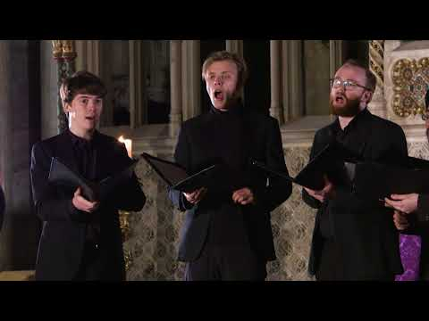 Abendlied (Rheinberger) The Gesualdo Six at Ely Cathedral #TheWay