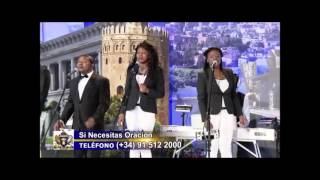 """DIGNO ES EL CORDERO"" - WORTHY IS THE LAMB Sinach - Live in Spanish at TBN España"