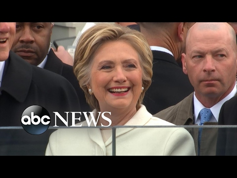 Hillary Clinton on Donald Trump s Inauguration Day