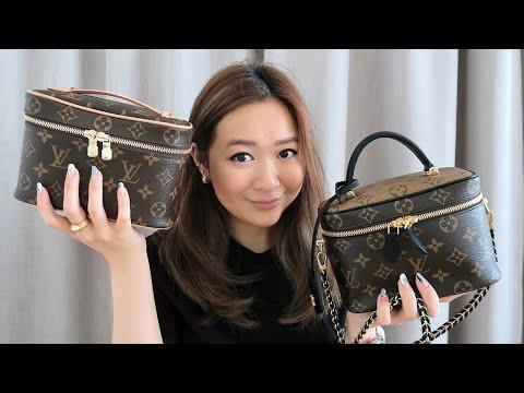 NEW Louis Vuitton Vanity PM & Nice Mini Comparison   idaaaaxx