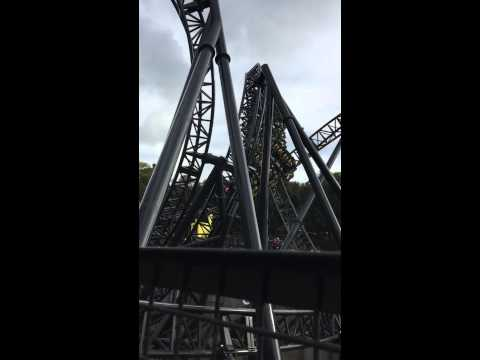 The Smiler Alton Towers Slow Mo