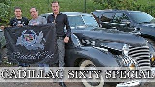 Cadillac Sixty Special 40х годов.  Настоящая американская роскошь!