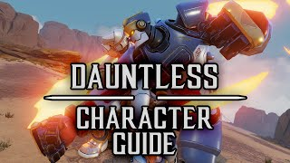 Dauntless Character Guide - Rising Thunder