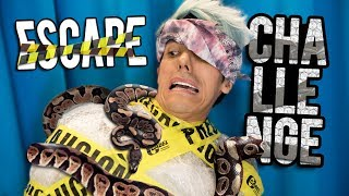 ESCAPE CHALLENGE WITH SNAKES | THE polinesios CHALLENGE