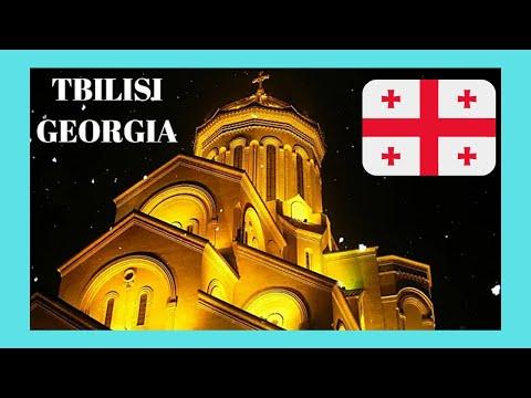 TBILISI, the beautiful capital of GEORGIA, a walking your