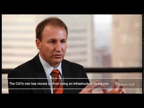 CIO Masters Series Interview Andrew Baker Blue Scope Steel | Robert Half Recruitment