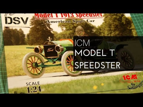 ICM 1/24 Model T Speedster (24015) Review