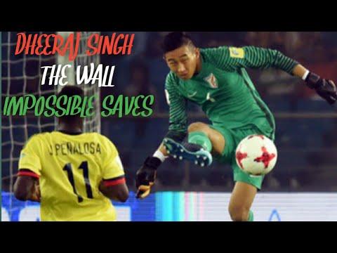 Dheeraj Singh Impossible Saves | Dheeraj Singh best Goalkeeping moments in U17 World Cup FIFA 2017