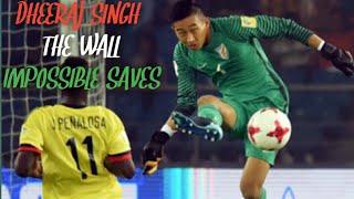 Dheeraj Singh Impossible Saves   Dheeraj Singh best Goalkeeping moments in U17 World Cup FIFA 2017