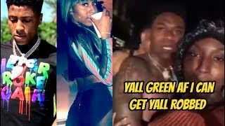 Girl Tries Setting Up Nba Youngboy Squad & Exp0sing Them