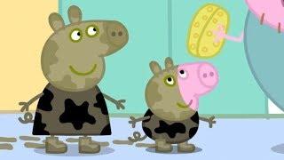 Gambar cover Peppa Pig En Español | Charcos de lodo Ep.1 | Pepa la Cerdita | Pepa la cerdita