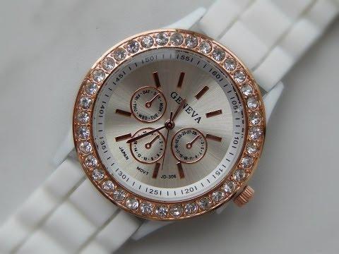 Женские наручные часы - Geneva (Aliexpress)