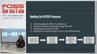 Lightning Talks: Developing RV32G Processor model - Pavani Tripathi - FOSSASIA Summit 2017