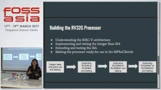 Lightning Talks: Developing RV32G Processor model - Pavani Tripathi - FOSSASIA Summit 2017