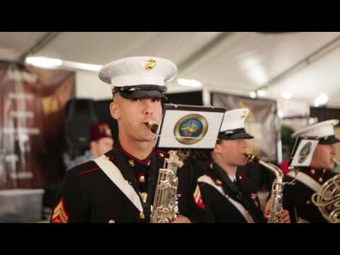 Marine Corps Band New Orleans performs in Houston