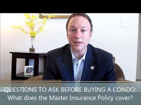 #10 Questions You Must Ask Before Buying a Condo: What does the Master Insurance Policy cover?