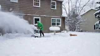 Slo Mo Sno Blo: Greenworks DigiPro 80-volt cordless electric snow blower