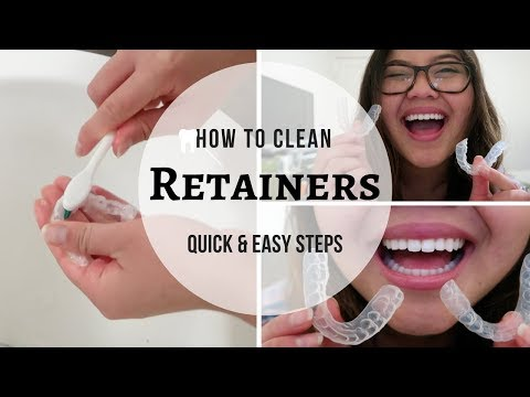 How To Clean Retainers   Cleaning Routine After Braces