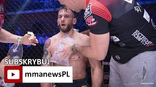 """Kamil Łebkowski po wygranej na FEN 22: """"Miałem walczyć przytomnie i nie podpalać się."""""""