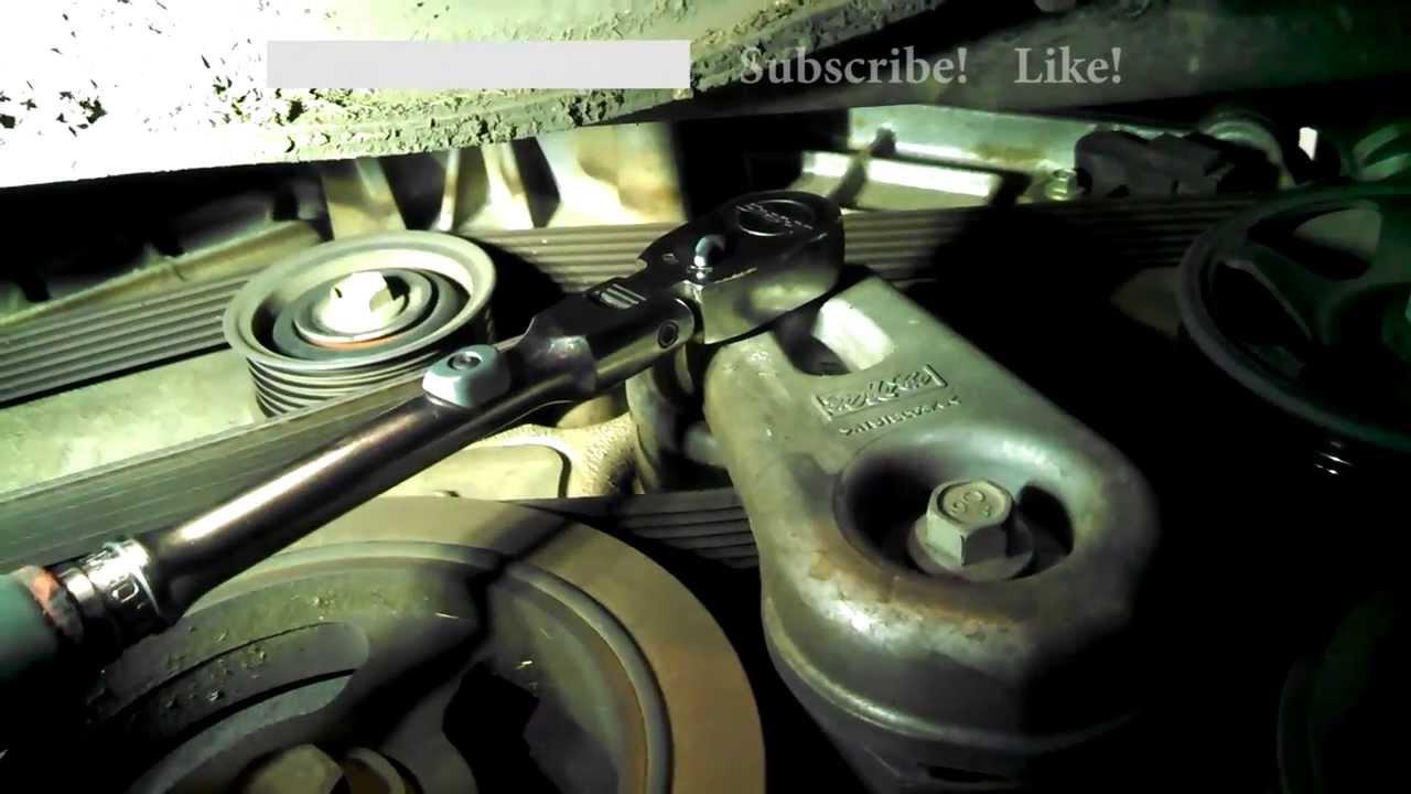 Serpentine belt replacement Ford Escape 2007 30L V6